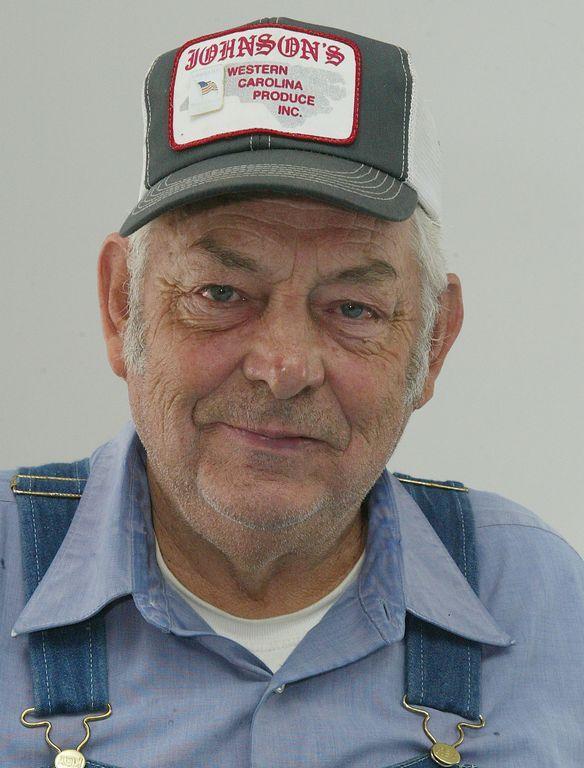 Henderson County Farmer Theron Maybin